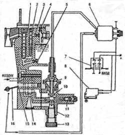 Схема подключения к-151 к дв 402